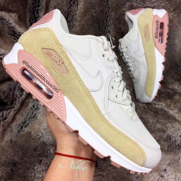 Nike Air Max 9 Suede Velvet Womens Rose